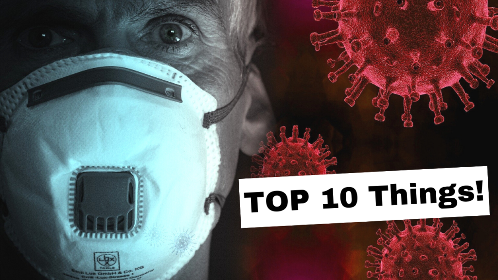 Top 10 Things to do while quarantine?! March 2020